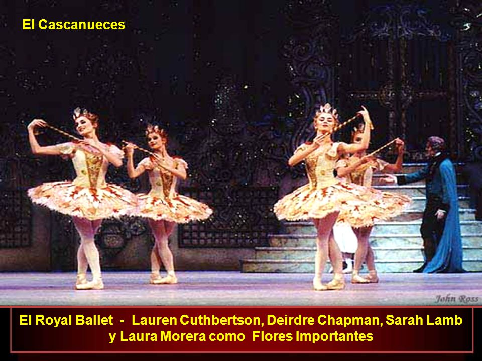 El Royal Ballet - Lauren Cuthbertson, Deirdre Chapman, Sarah Lamb