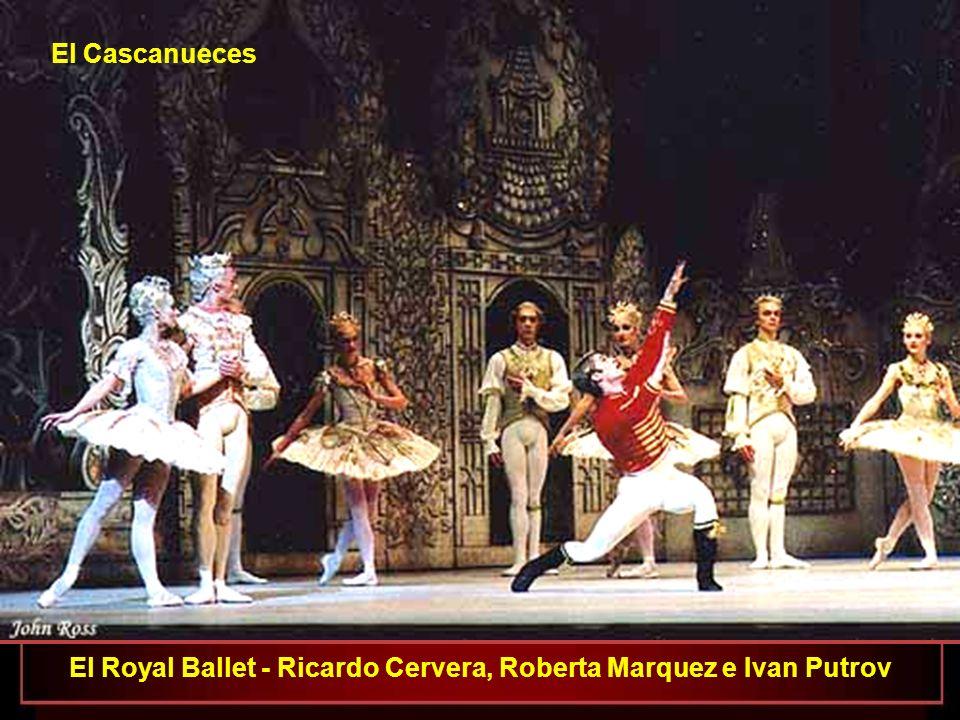 El Royal Ballet - Ricardo Cervera, Roberta Marquez e Ivan Putrov