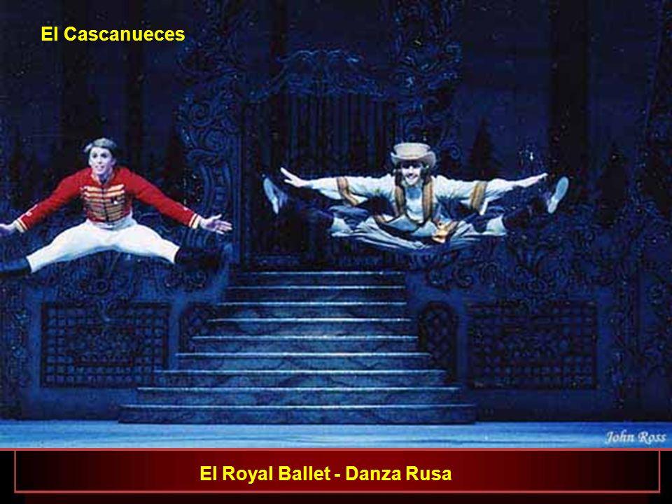 El Cascanueces El Royal Ballet - Danza Rusa
