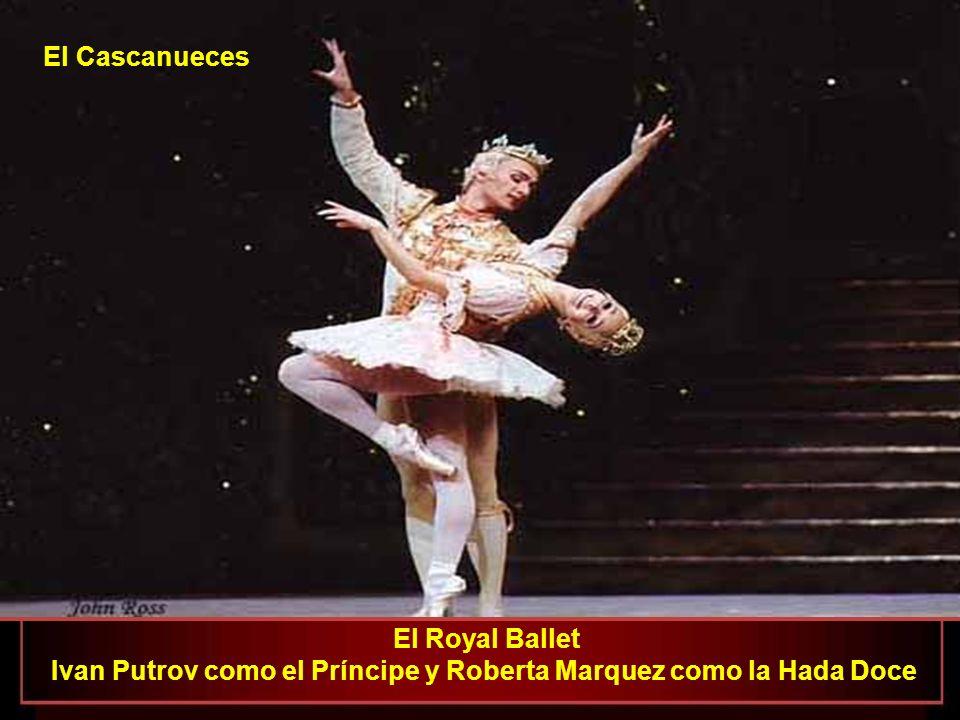 Ivan Putrov como el Príncipe y Roberta Marquez como la Hada Doce