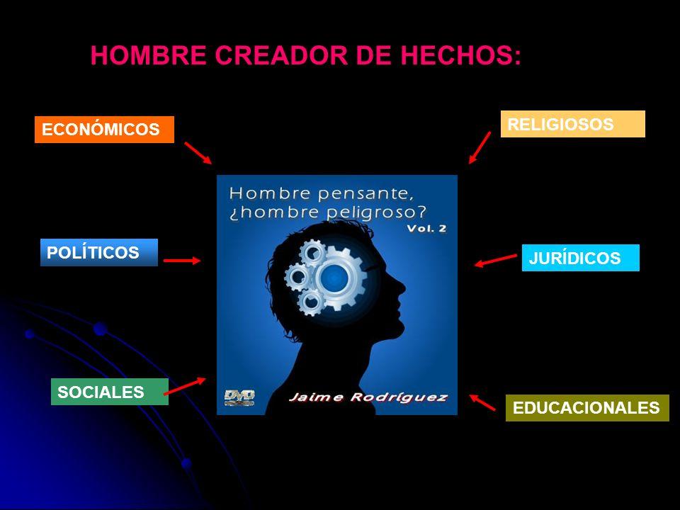 HOMBRE CREADOR DE HECHOS: