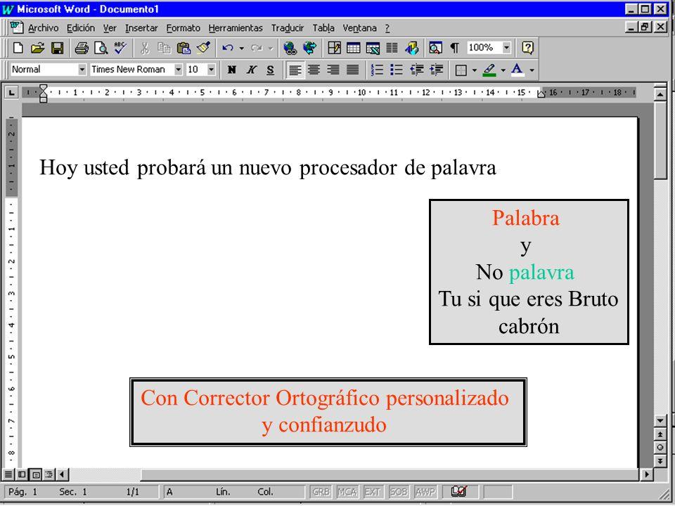 Con Corrector Ortográfico personalizado
