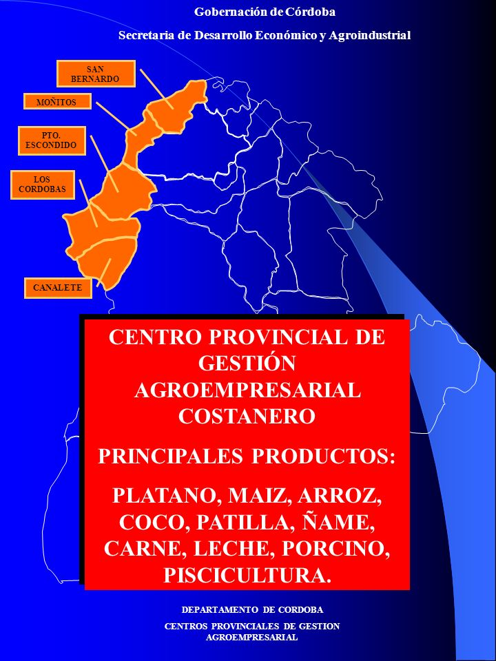 CENTRO PROVINCIAL DE GESTIÓN AGROEMPRESARIAL COSTANERO