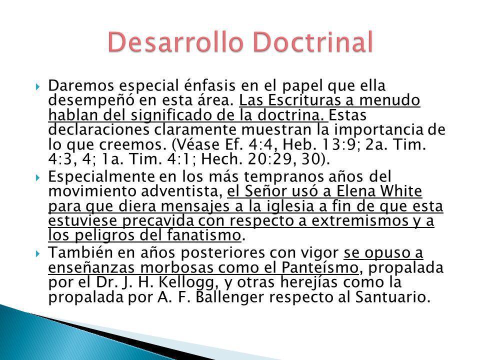 Desarrollo Doctrinal