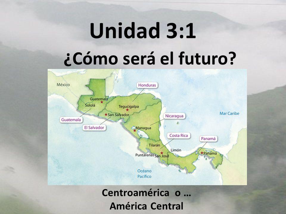 Centroamérica o … América Central