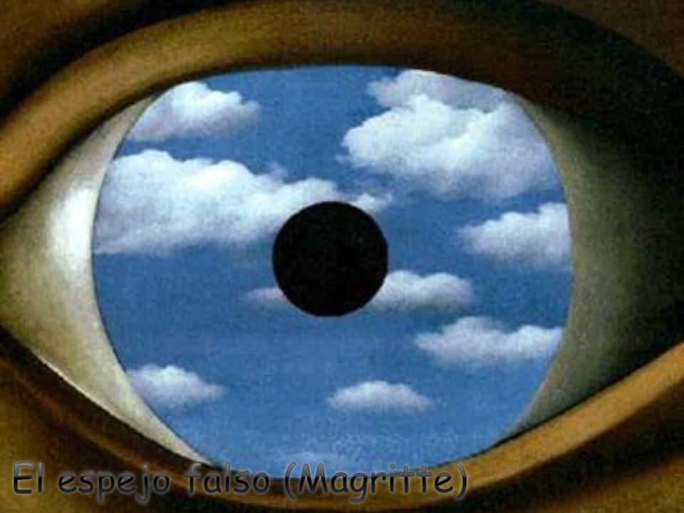 El espejo falso (Magritte)