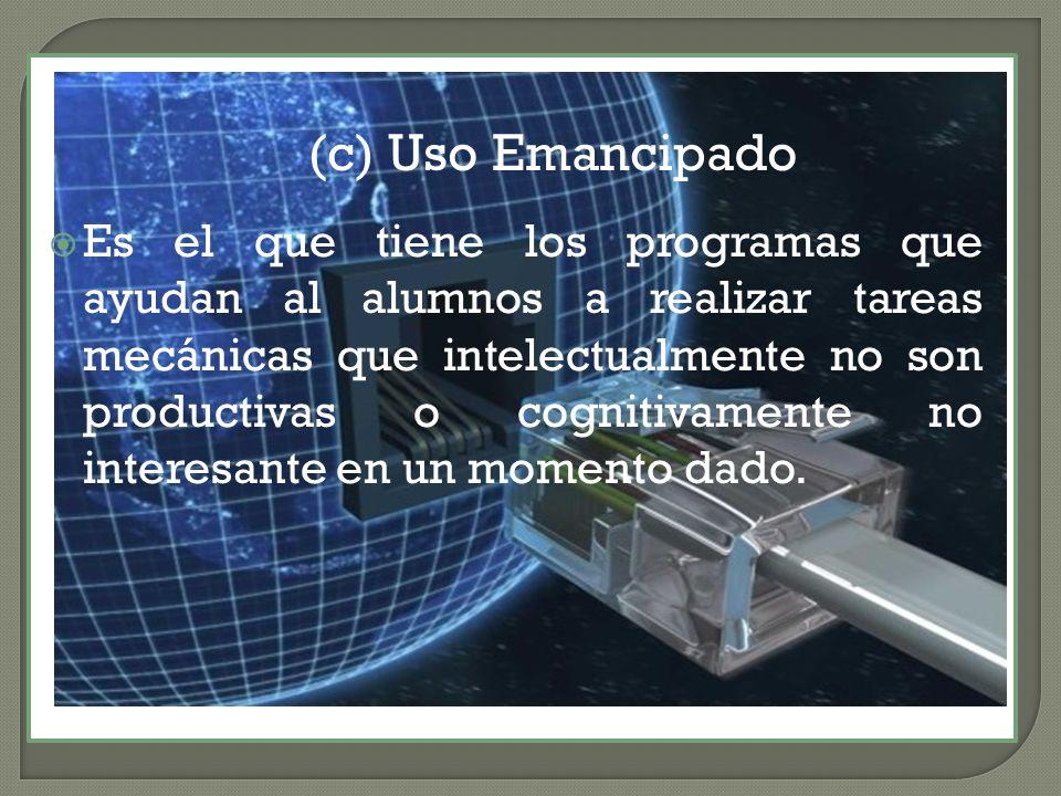 Uso Emancipado (c) Uso Emancipado