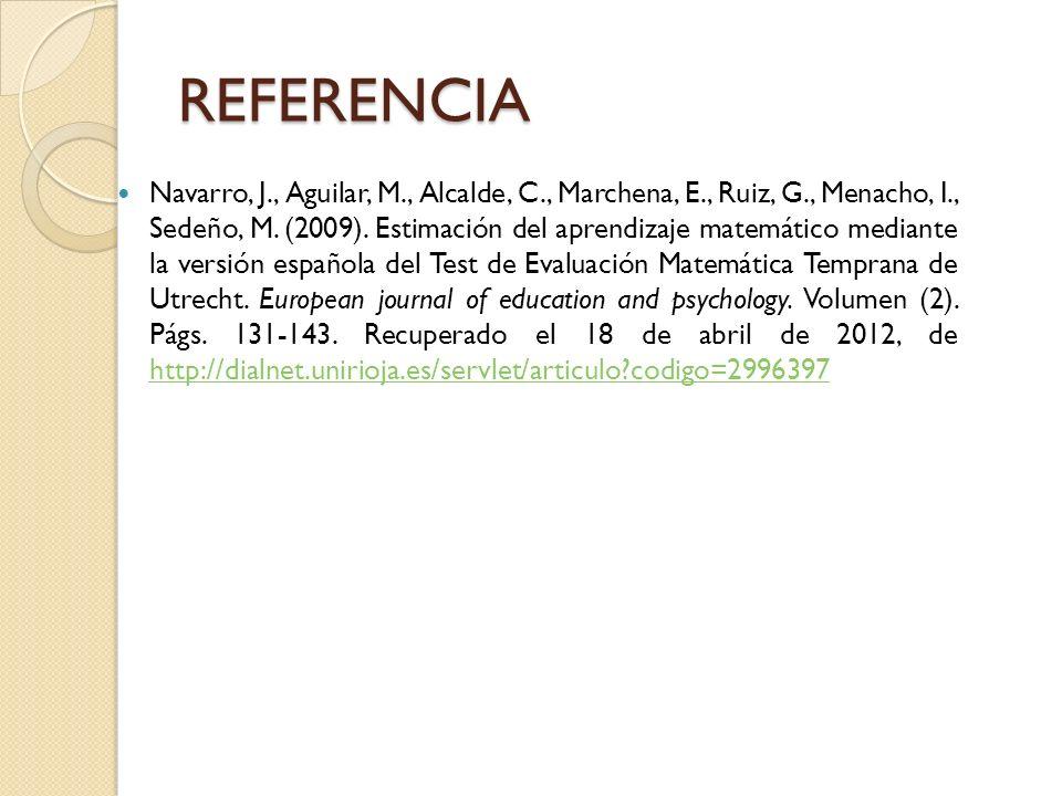 REFERENCIA
