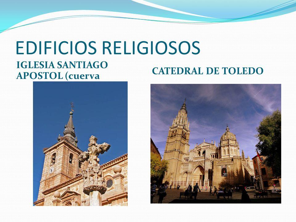 EDIFICIOS RELIGIOSOS IGLESIA SANTIAGO APOSTOL (cuerva