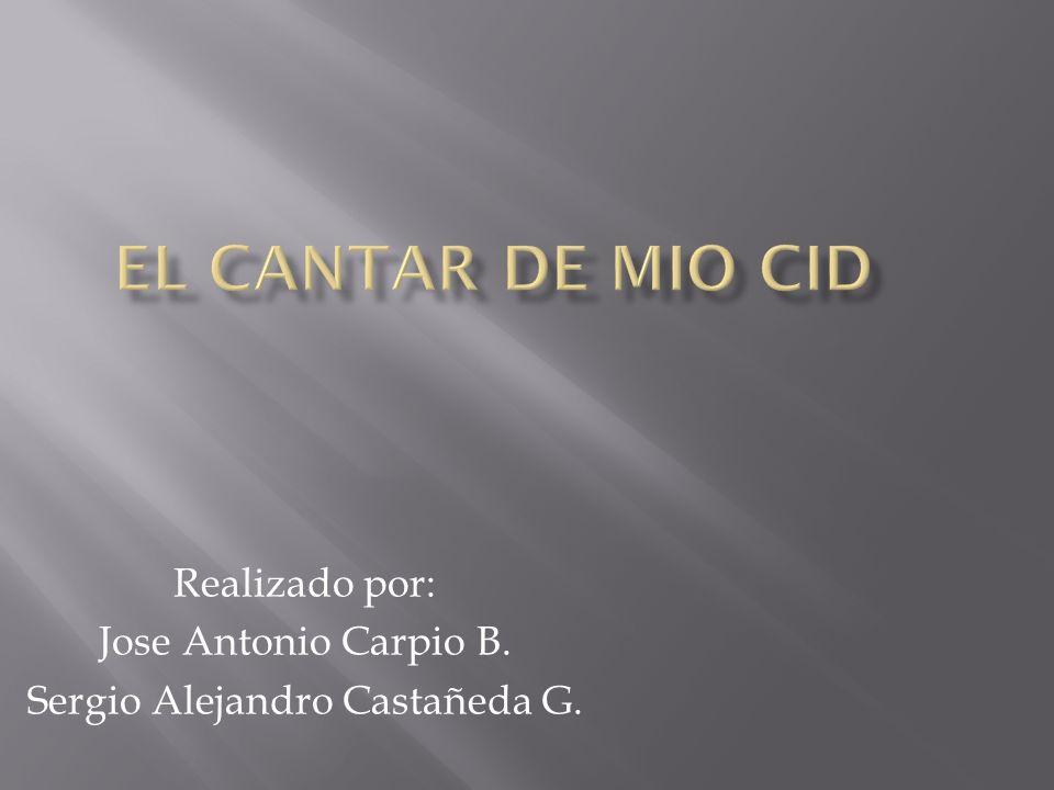 Realizado por: Jose Antonio Carpio B. Sergio Alejandro Castañeda G.