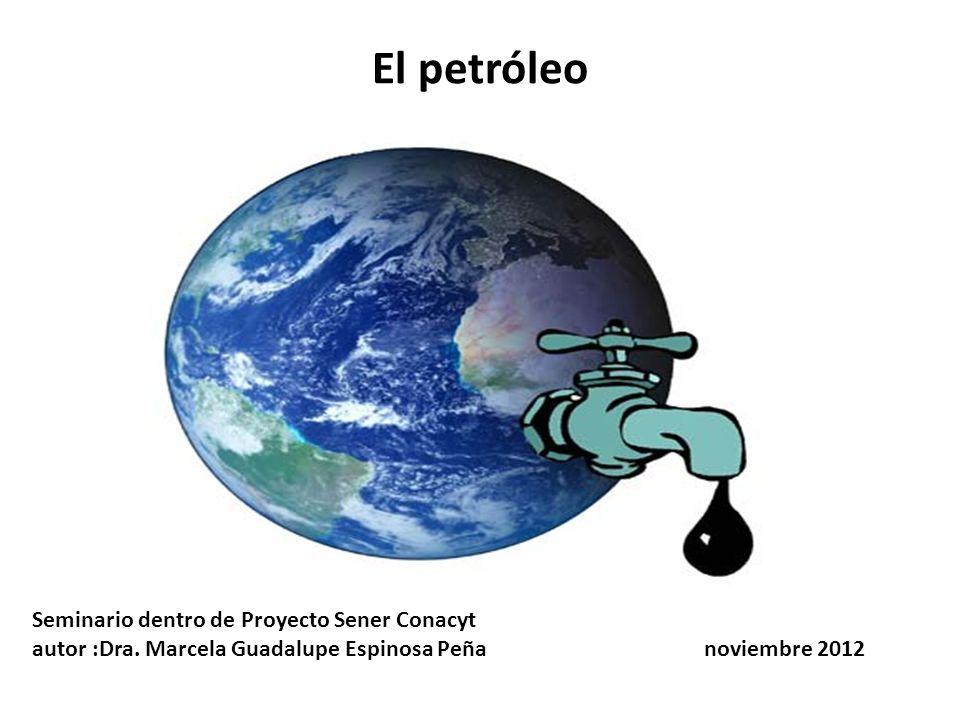 El petróleo Seminario dentro de Proyecto Sener Conacyt