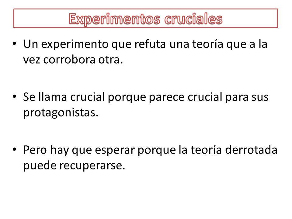 Experimentos cruciales