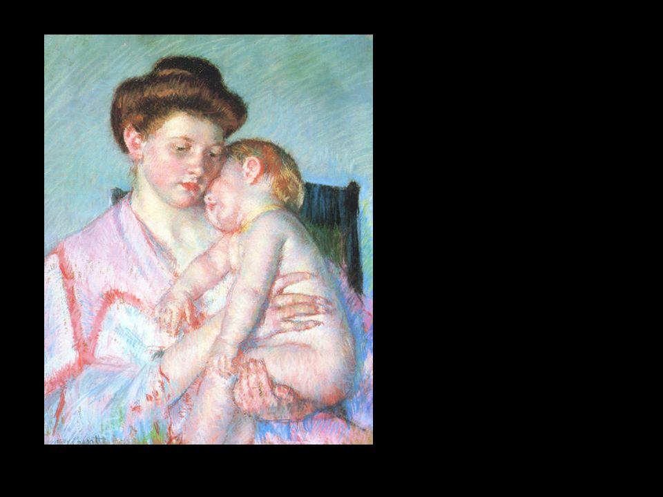 Niño dormido. Mary Cassat, 1910.
