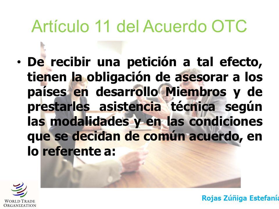 Artículo 11 del Acuerdo OTC