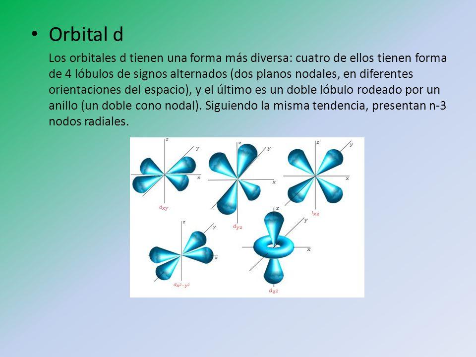 Orbital d