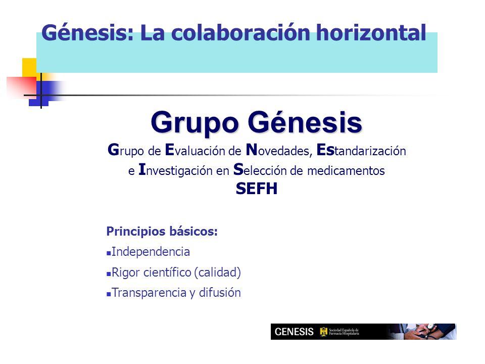 Grupo Génesis Génesis: La colaboración horizontal