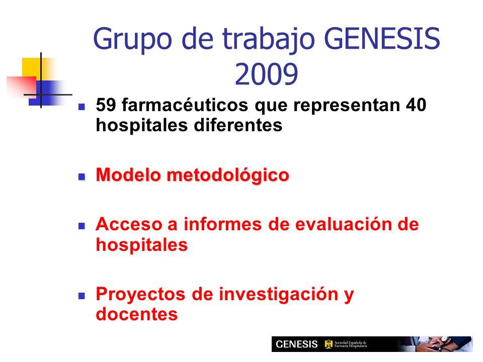 Grupo de trabajo GENESIS 2009