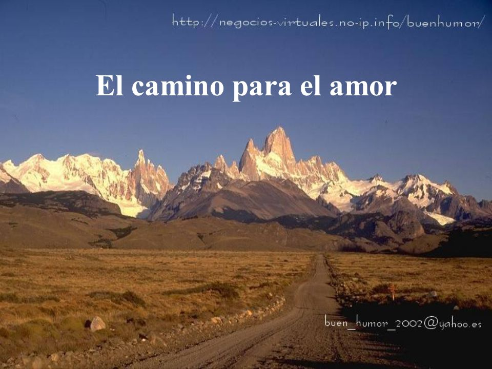 El camino para el amor