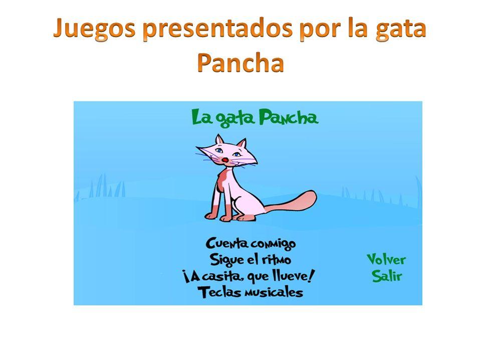 Juegos presentados por la gata Pancha