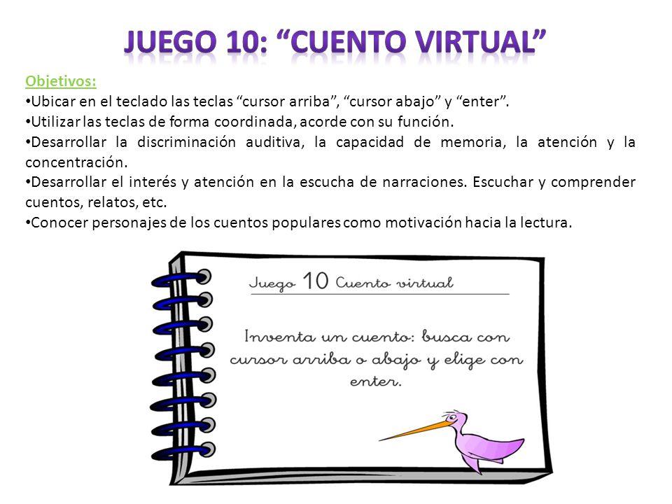 Juego 10: Cuento virtual