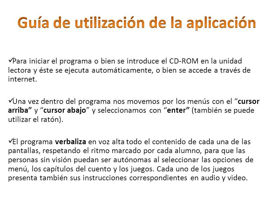 Guía de utilización de la aplicación