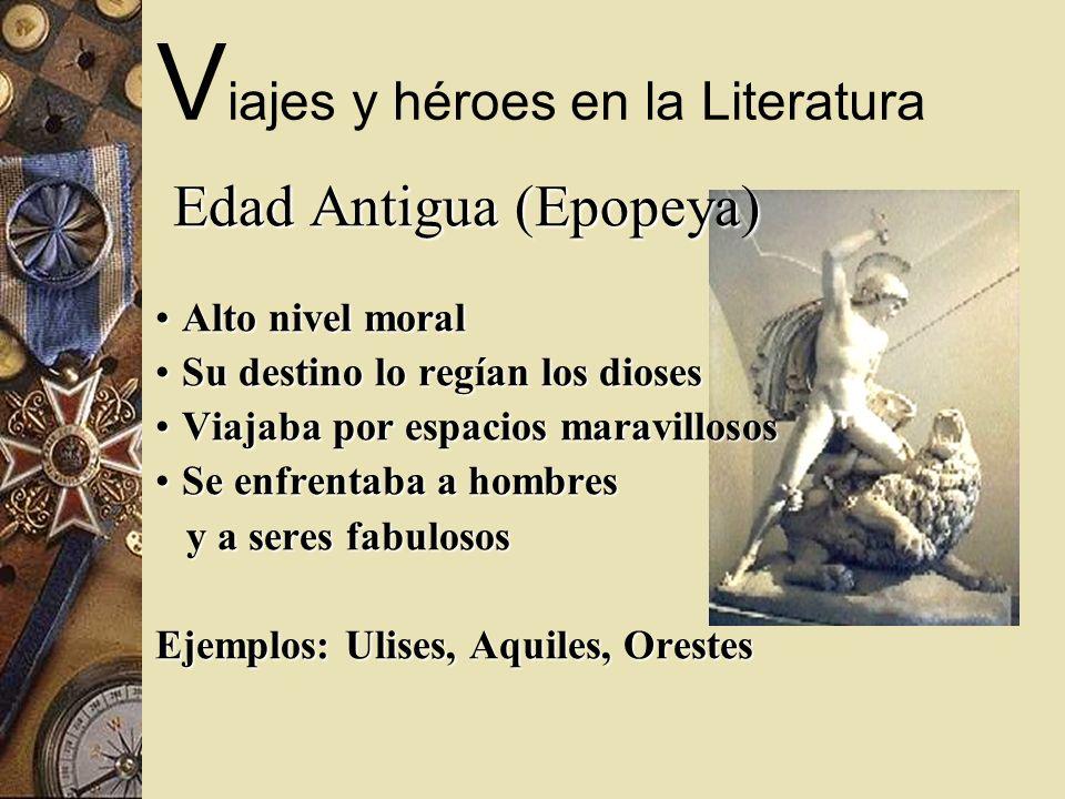 Viajes y héroes en la Literatura
