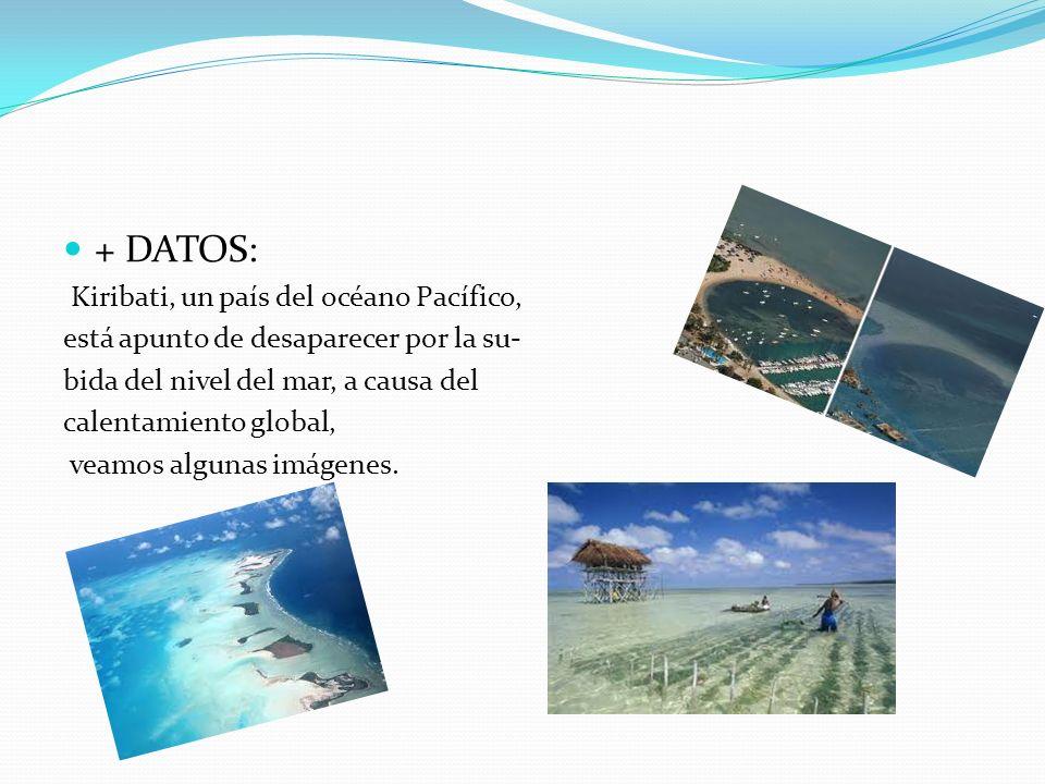 + DATOS: Kiribati, un país del océano Pacífico,