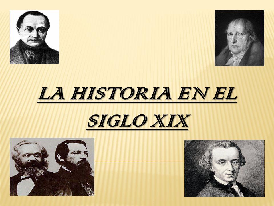 La historia en el siglo XIX