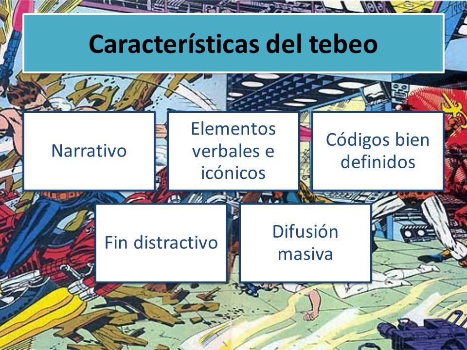 Características del tebeo