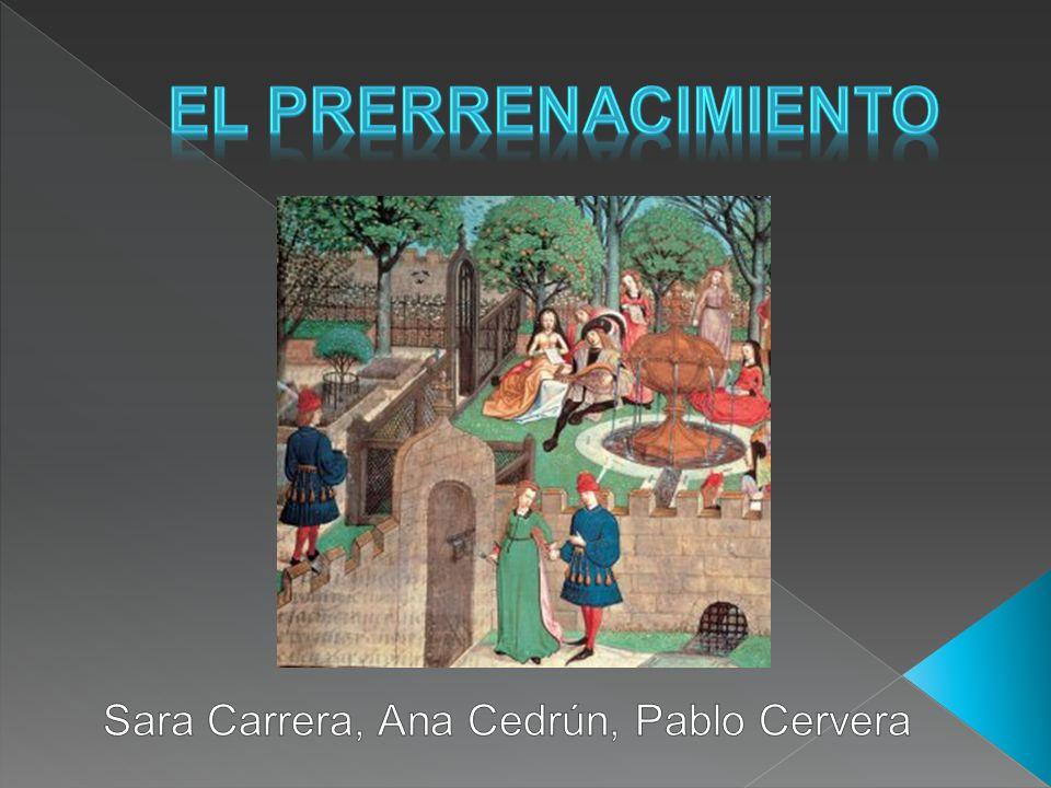 Sara Carrera, Ana Cedrún, Pablo Cervera