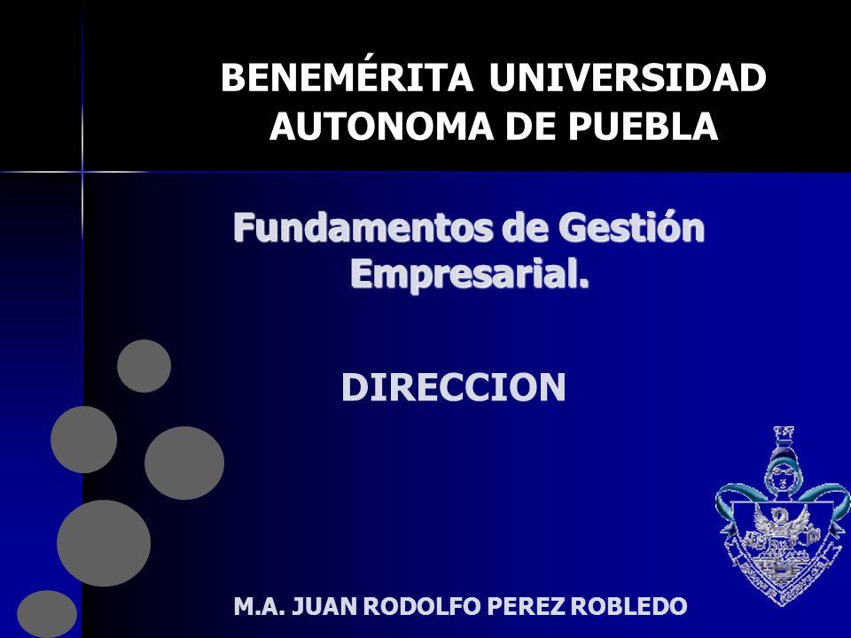 BENEMÉRITA UNIVERSIDAD AUTONOMA DE PUEBLA