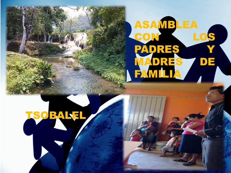 ASAMBLEA CON LOS PADRES Y MADRES DE FAMILIA