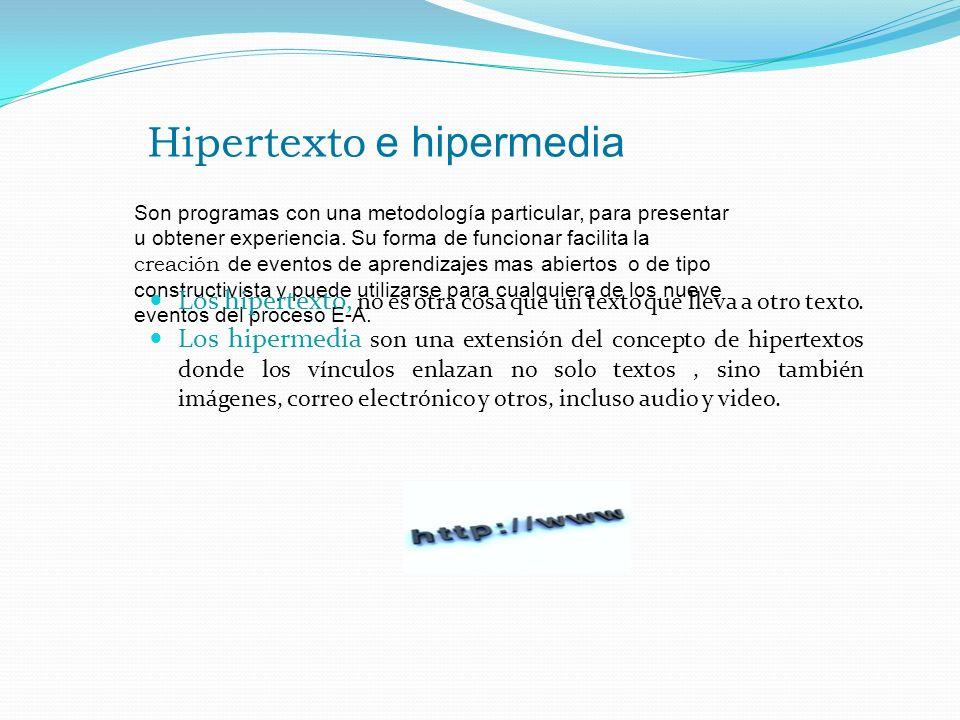 Hipertexto e hipermedia