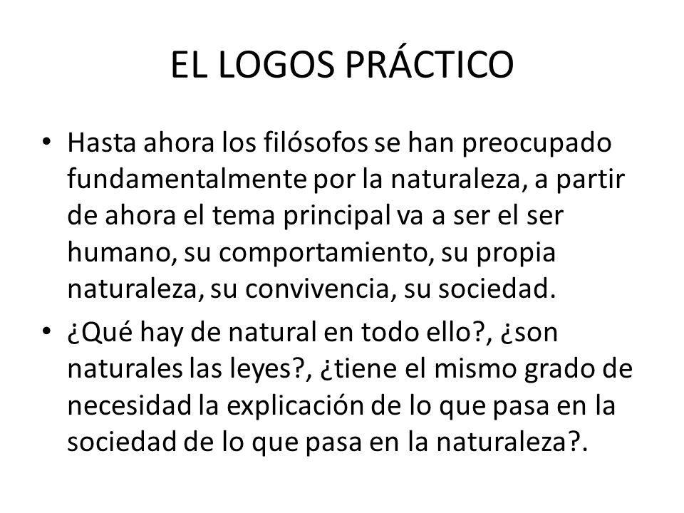 EL LOGOS PRÁCTICO