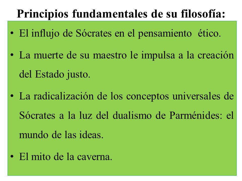 Principios fundamentales de su filosofía: