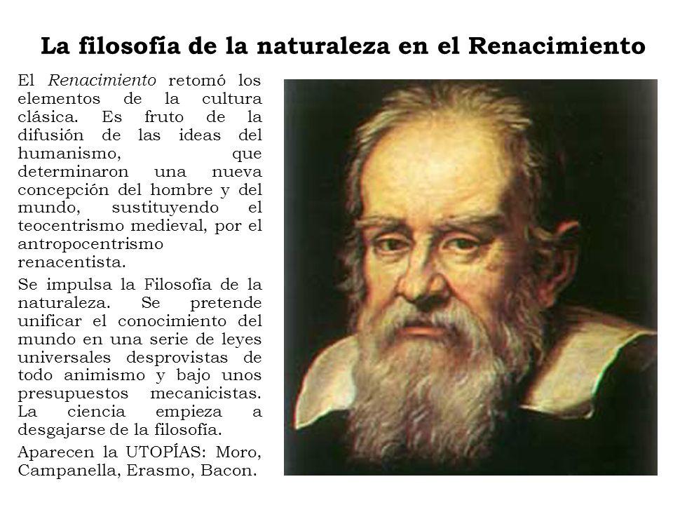 La filosofía de la naturaleza en el Renacimiento