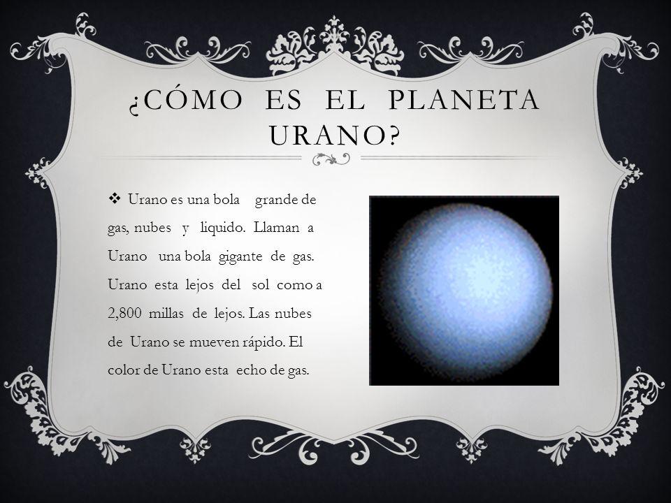 ¿Cómo es el planeta Urano