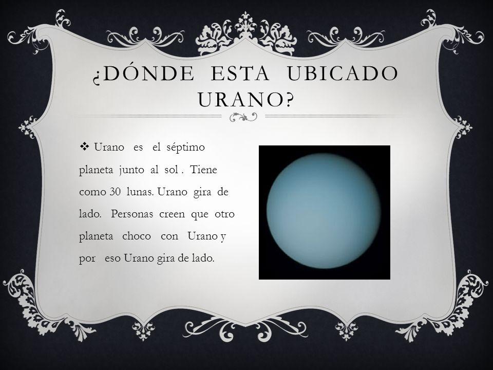 ¿Dónde esta ubicado Urano