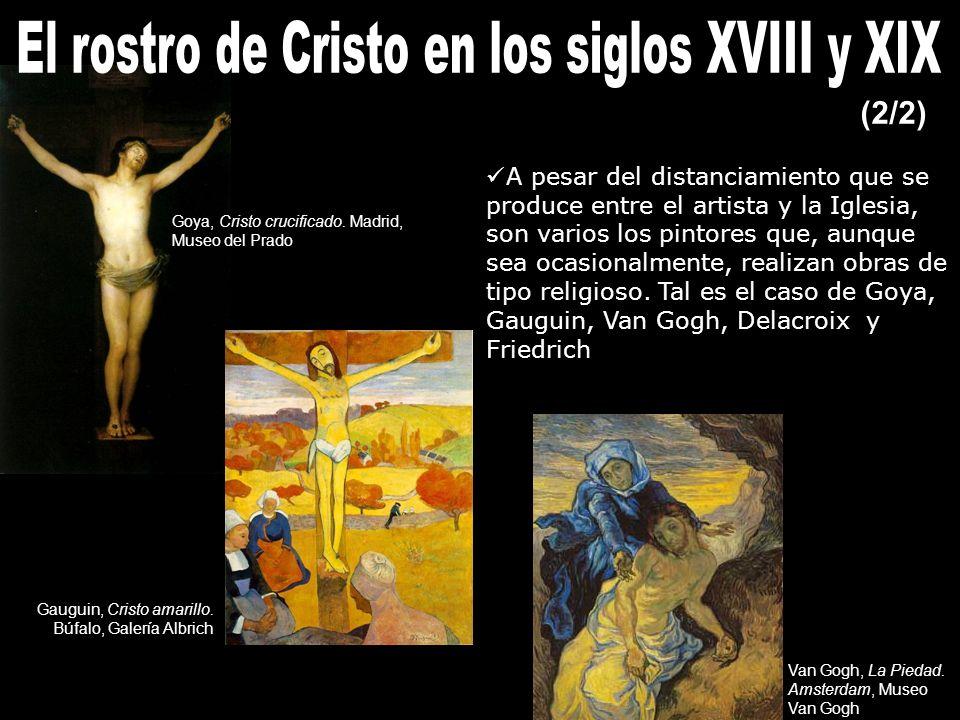 El rostro de Cristo en los siglos XVIII y XIX