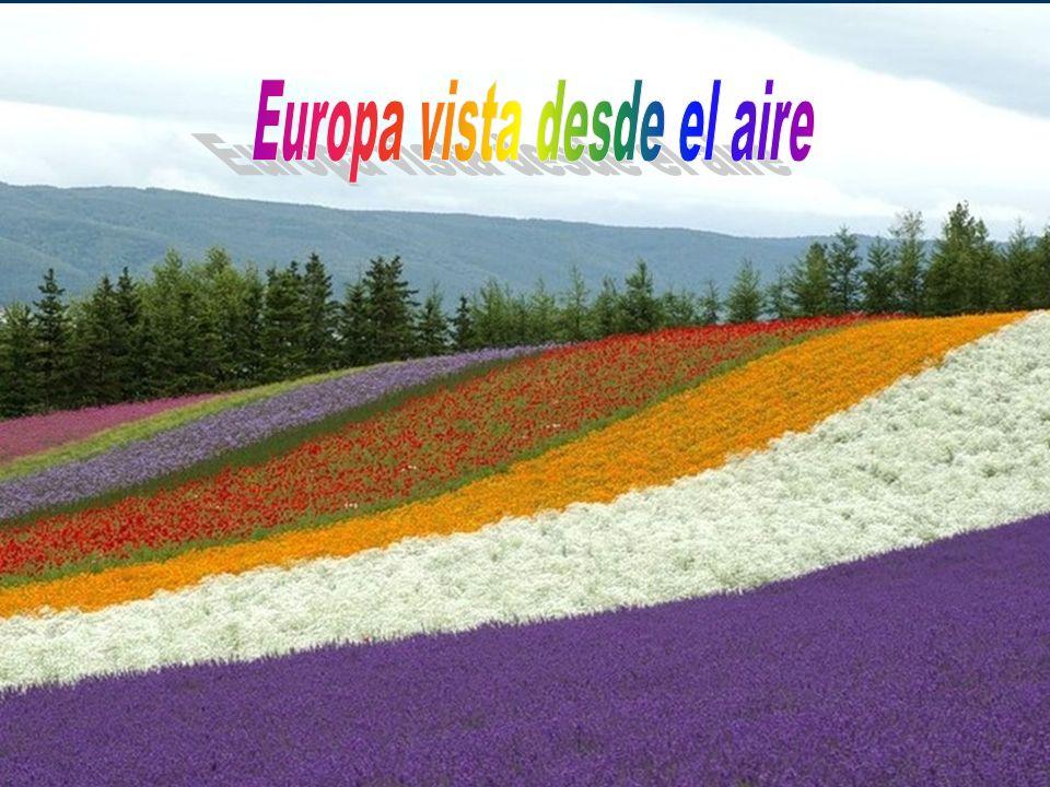 Europa vista desde el aire