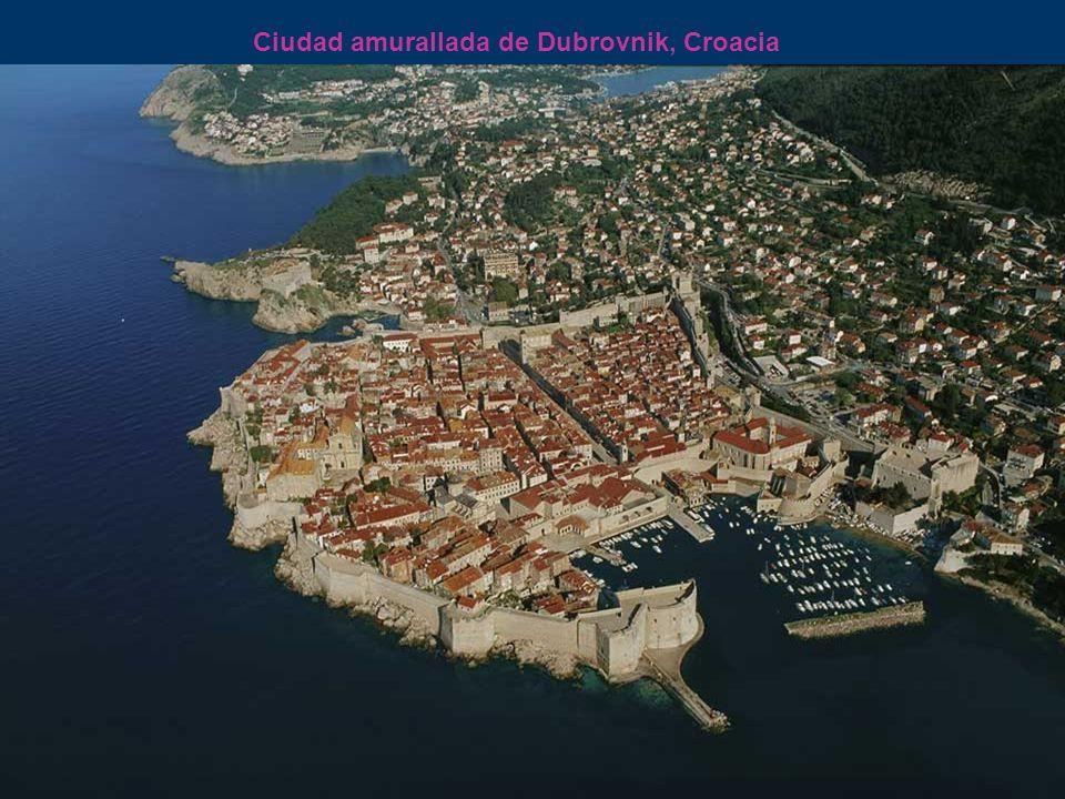Ciudad amurallada de Dubrovnik, Croacia