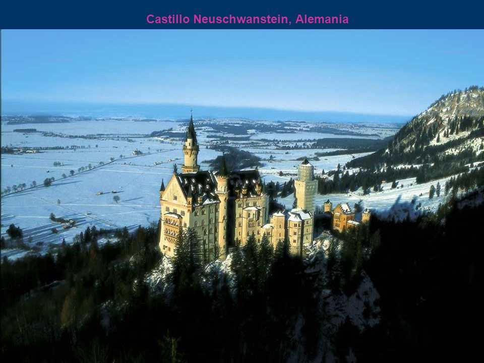 Castillo Neuschwanstein, Alemania