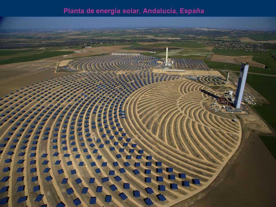 Planta de energía solar, Andalucía, España