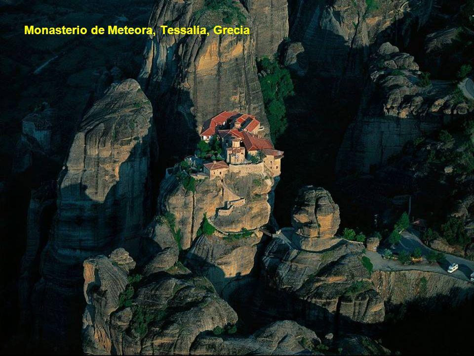 Monasterio de Meteora, Tessalia, Grecia