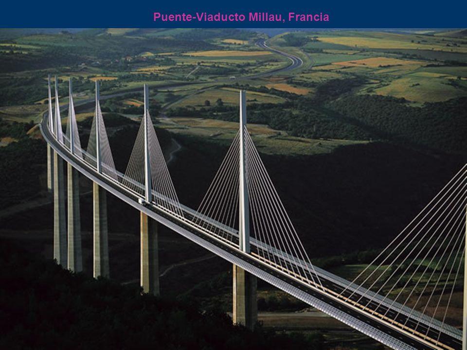 Puente-Viaducto Millau, Francia