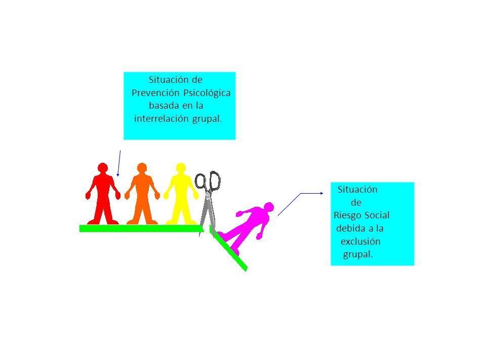 Prevención Psicológica basada en la interrelación grupal.
