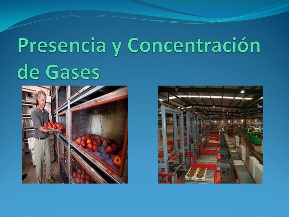 Presencia y Concentración de Gases