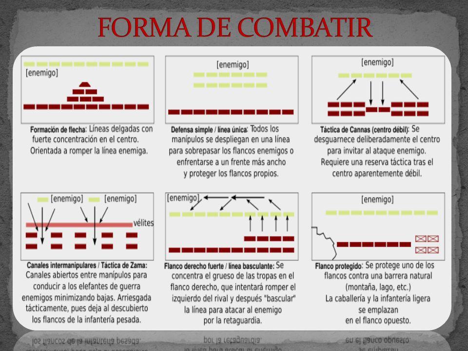 FORMA DE COMBATIR