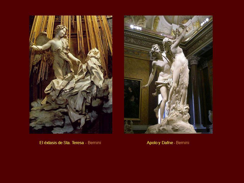 El éxtasis de Sta. Teresa - Bernini