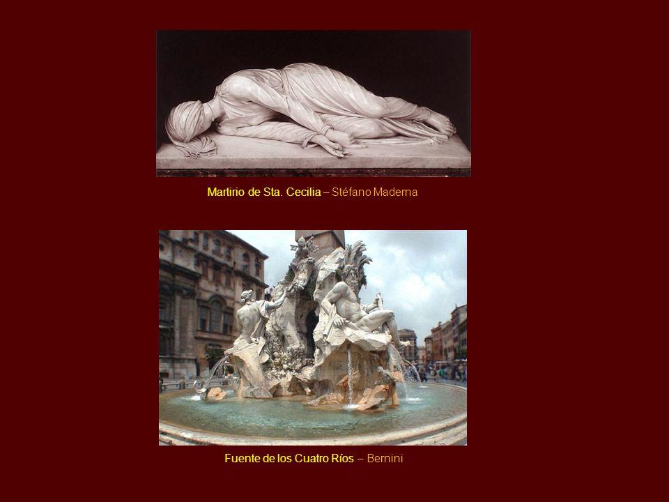 Martirio de Sta. Cecilia – Stéfano Maderna